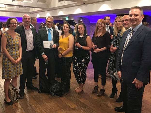 Davies Green Group finalists at the IEMA awards 2019
