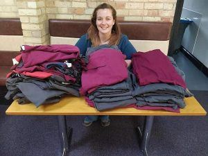 SustainabilityDavies Veterinary Specialists donates scrubs to NHS