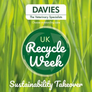 Davies Veterinary Specialists Sustainability newsletter autumn winter 20 recycle week takeover