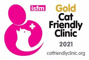 ISFM Feline Friendly gold accreditation for Davies Veterinary Specialists